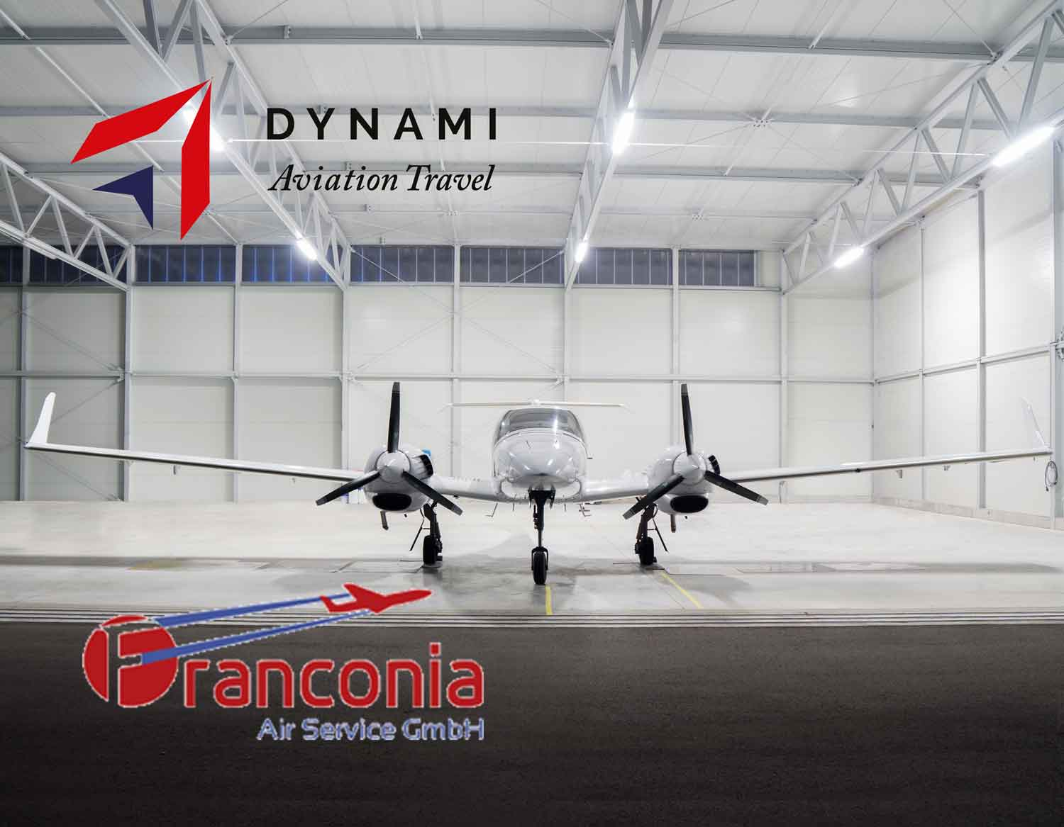 DYNAMI AVIATION TRAVEL SIGNS A NEW PARTNERSHIP WITH FRANCONIA AIR SERVICE